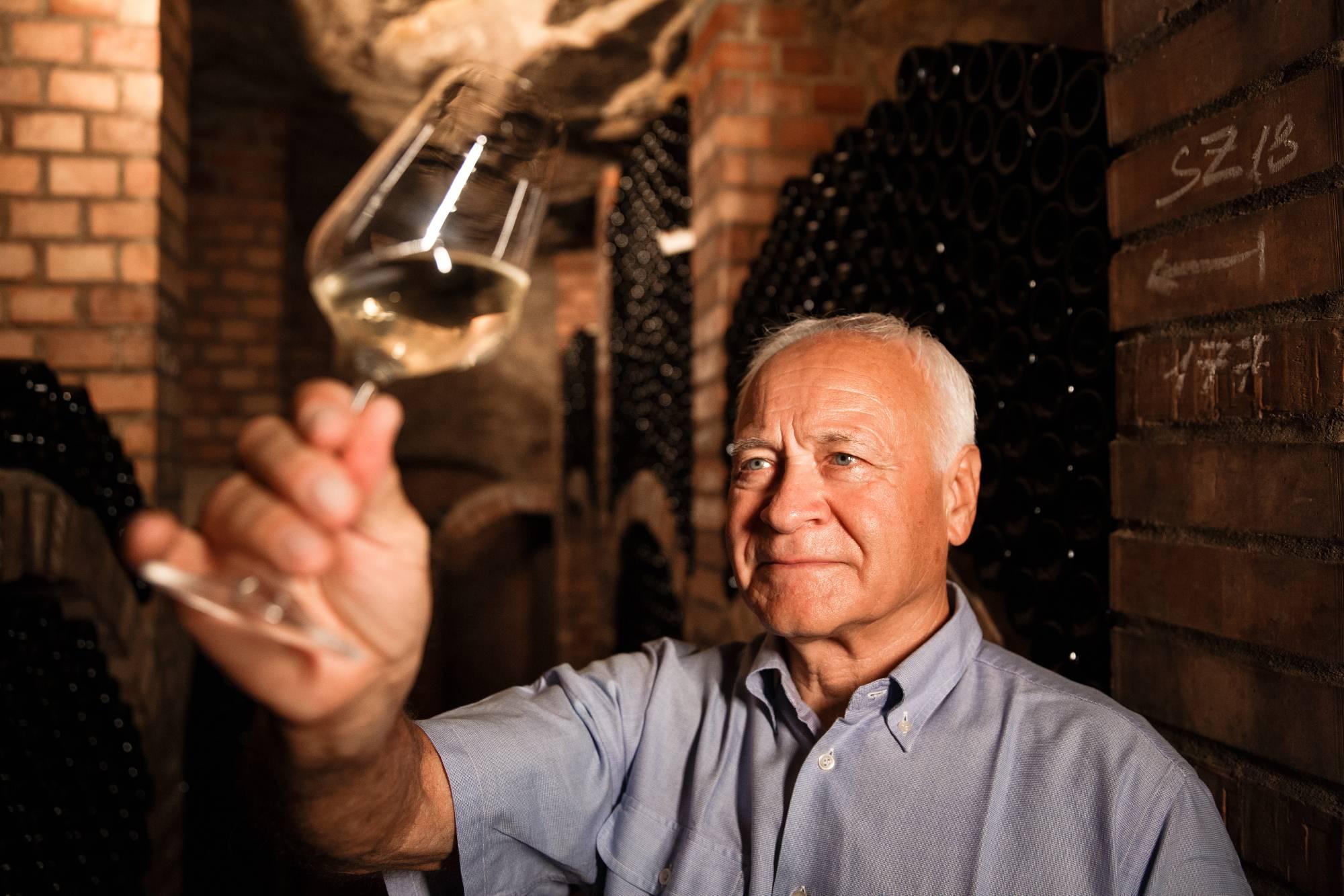 Vinařství Dobrovolný - vinař ing. Dobrovolný